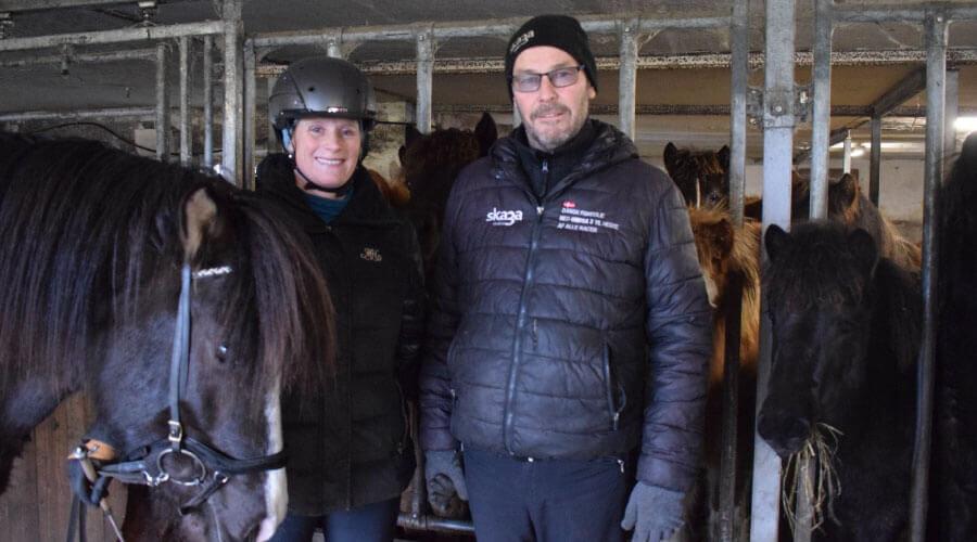 Om Teland og passionen for den islandske hest